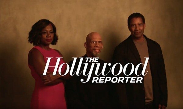 Kareem Abdul-Jabbar Interviews Denzel Washington & Viola Davis Stars of 'Fences' | THR
